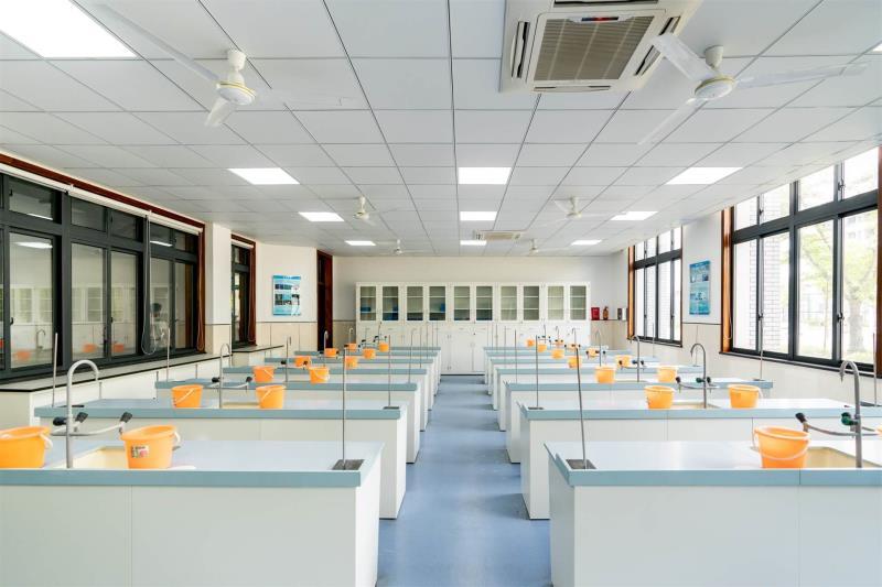 Basic chemistry classroom
